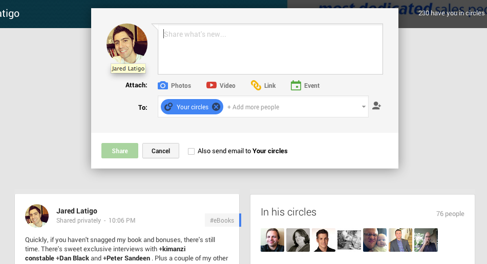 5 Things I Noticed Immediately About the New G+ (and why you need to join me!)